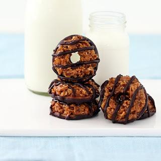 Homemade Samoas Cookie.