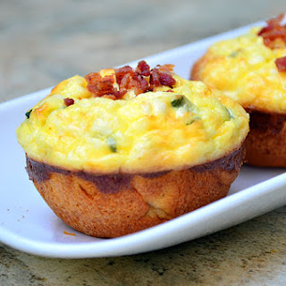 Bacon and Egg Biscuits.