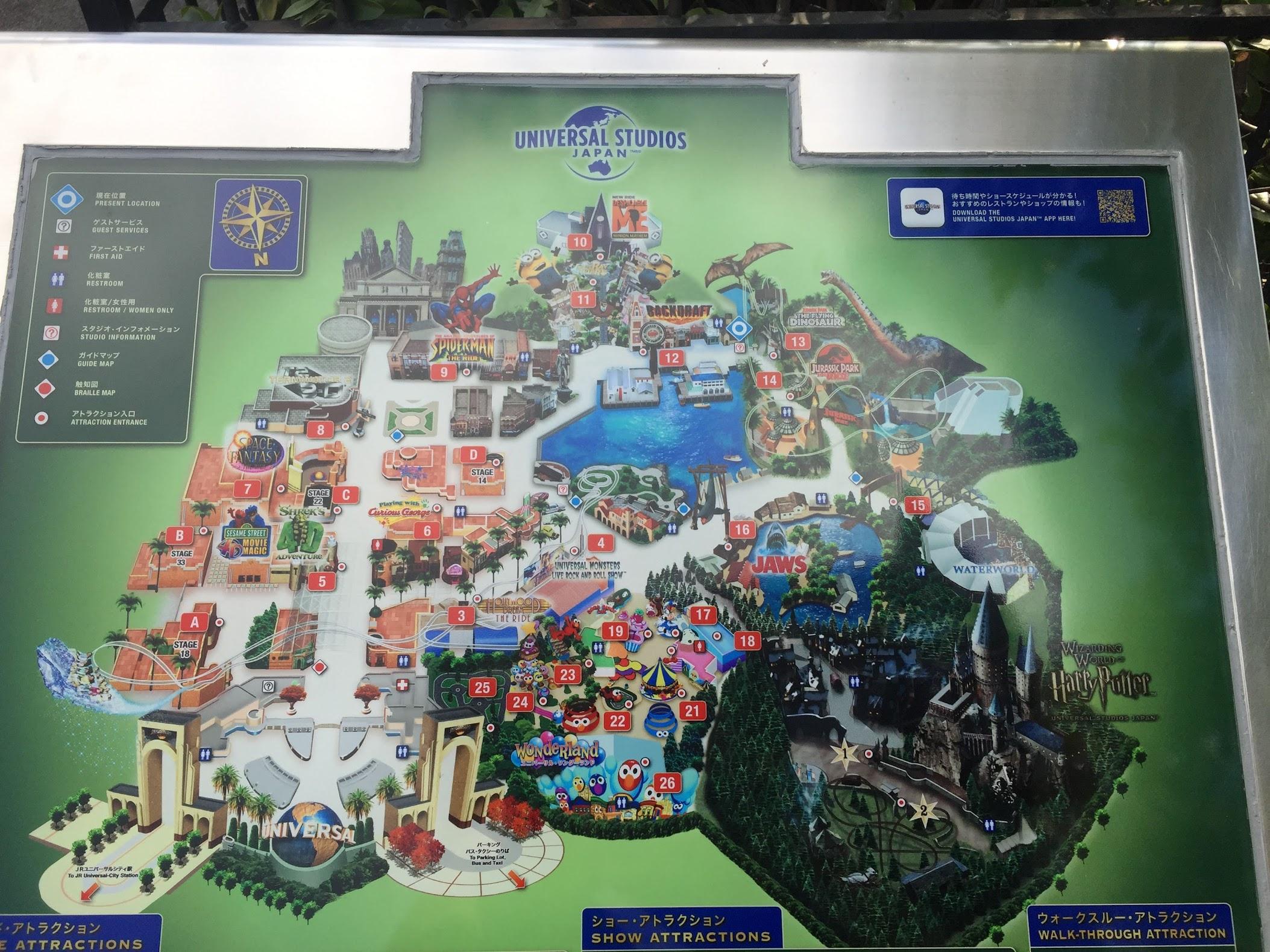 Peta Universal Studio