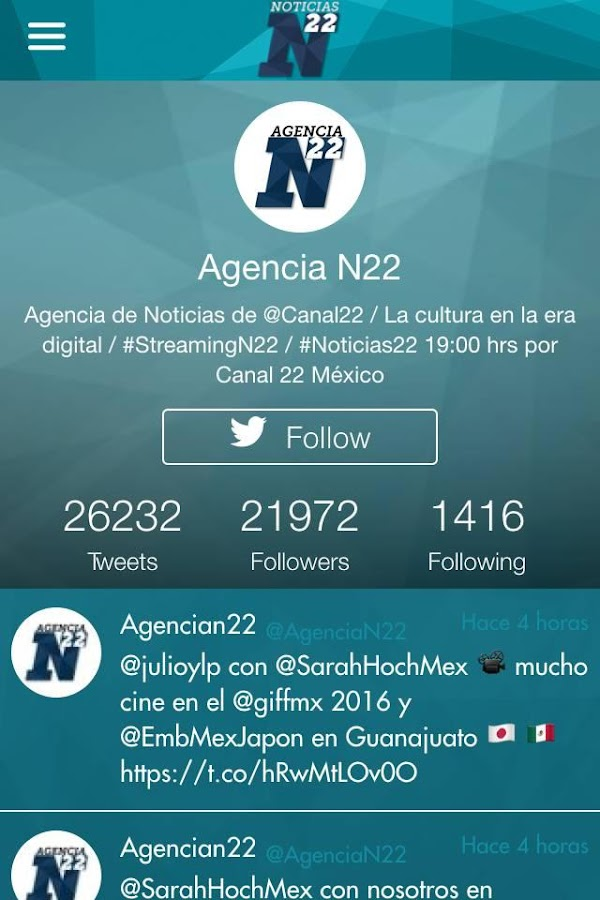 Noticias N22- screenshot
