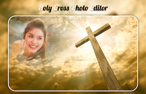 Holy Cross Photo Frame - náhled