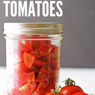 DIY Homemade Canned Diced Tomatoes