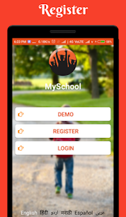 School Management app software - náhled
