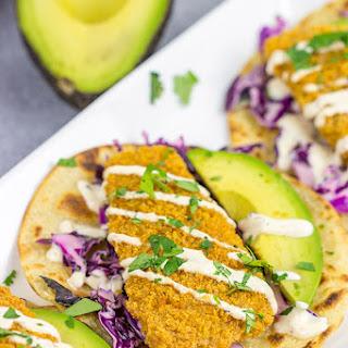 Crispy Baja Fish Tacos.