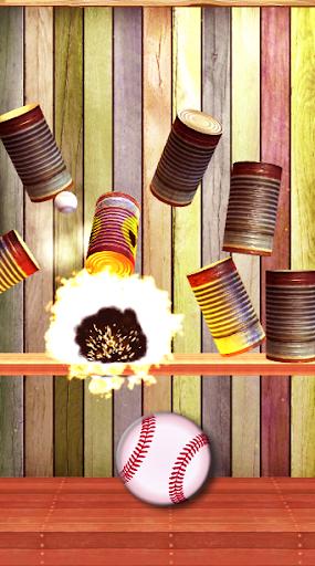 Knock Down Cans : hit cans apktram screenshots 1