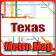 Download Texas USA Metro Map Offline For PC Windows and Mac