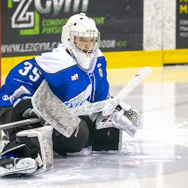 Ayoye by Yves Sansoucy - Sports & Fitness Ice hockey