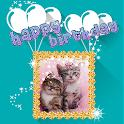 Happy Birthday GIF Photo Frame