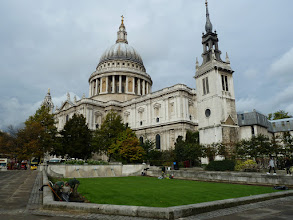 Photo: We spent a few days exploring London via the Underground. Here's Saint Paul's Cathedral.