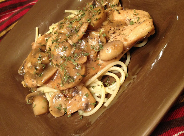 Chicken Marsala: Hungry Girl Style Recipe