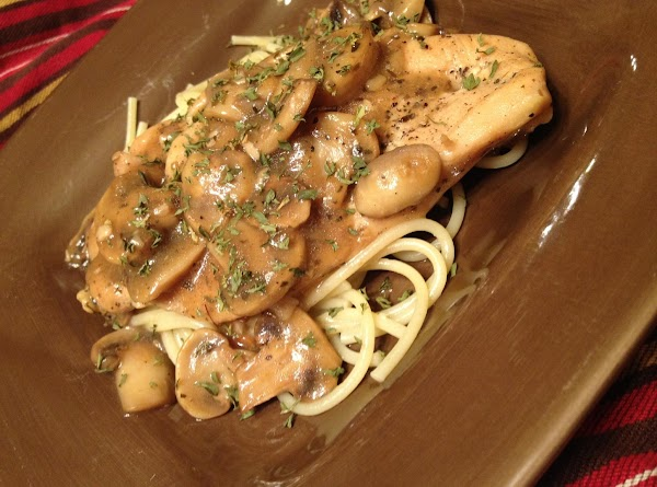 Chicken Marsala: Hungry Girl Style Recipe