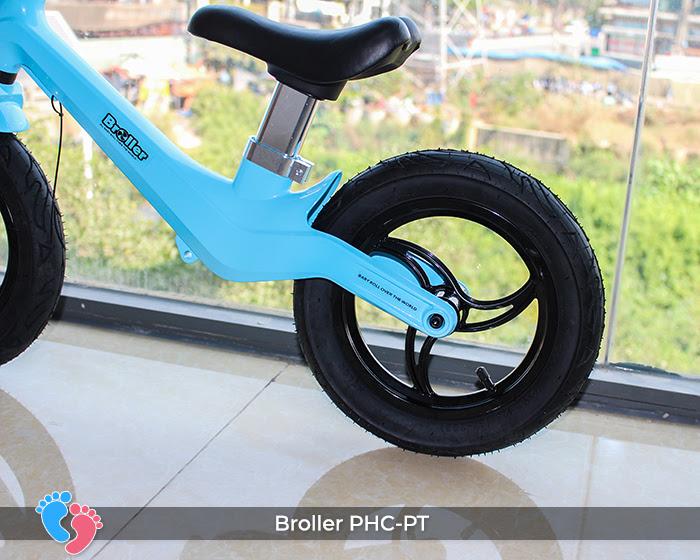 Xe cân bằng Broller PHC-PT bánh hơi 10