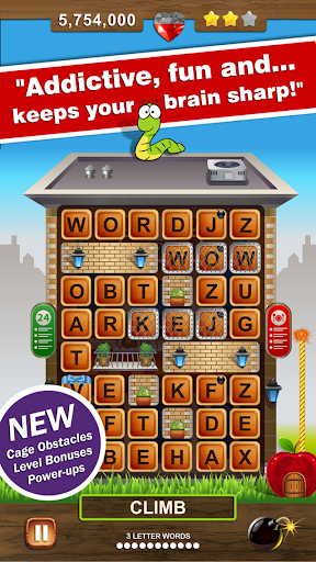 Word Wow Big City: Help a Worm 1.7.20 screenshots 2