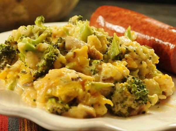 Layered Broccoli-rice Casserole...(no Canned Soup) Recipe