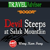 Devil Steeps at Salak Mountain