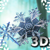 Falling Snowflakes 3D lwp Pro
