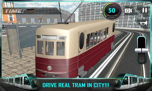 City Tram Driver Simulator 3D