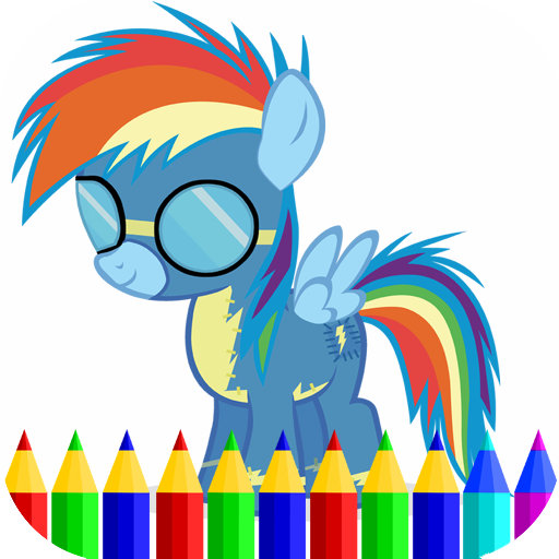 Coloring Pony Game Applications Sur Google Play