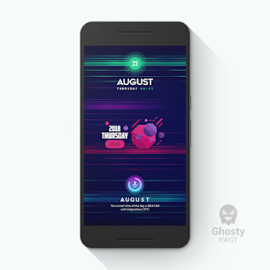 Ghosty KWGT 1.1.5 Mod APK Updated 2
