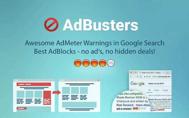 AdBusters - AdBlocker plus AdMeter
