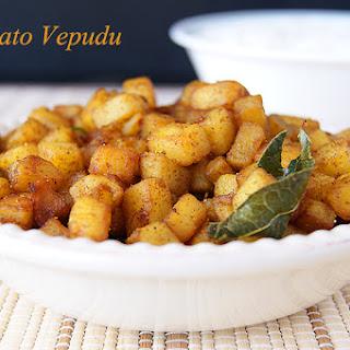 Potato Vepudu Recipe
