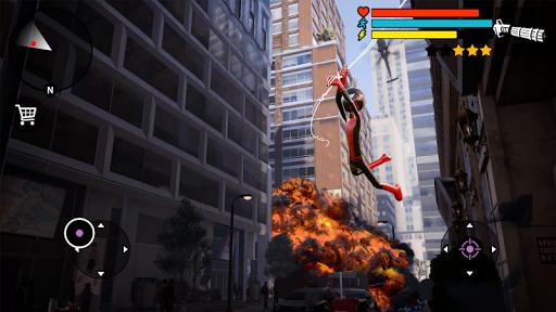 Spider Stickman Rope Hero 2 - Vegas Gangster Crime apktram screenshots 6