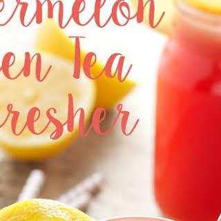 Watermelon Green Tea Refresher.