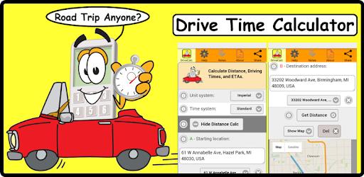 Drive Time Calculator >> Drive Time Calculator Apps On Google Play