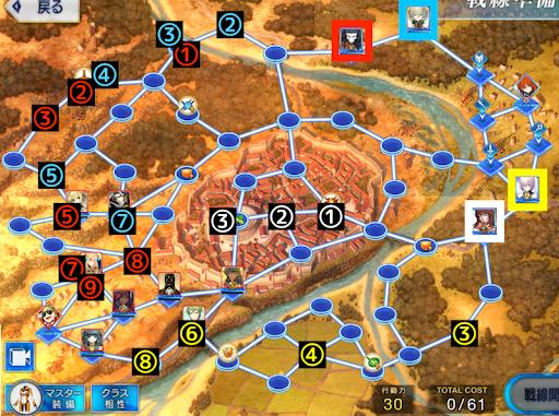 ローマ戦線7の攻略チャート