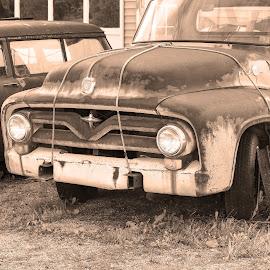 by Howard Mattix - Transportation Other ( rust, automobiles, pickup, antique )