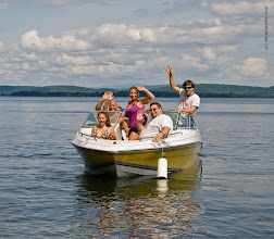 Photo: Boating at Grand Isle State Park