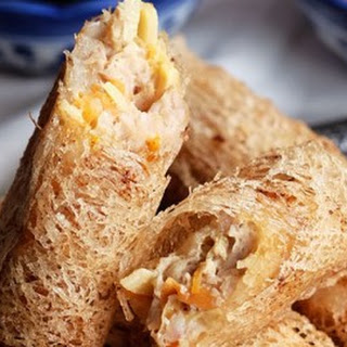 Netted Spring Rolls