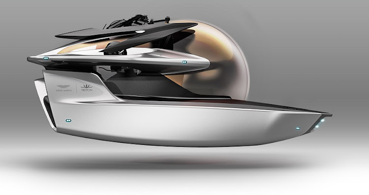 Aston Martin has unveiled plans to create Project Neptune with Triton Submarine. Picture: NEWSPRESS UK