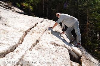 Photo: Nice holds on granular slab.