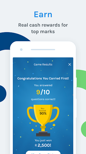 Carry1st Trivia: Play. Learn. Earn. android2mod screenshots 4
