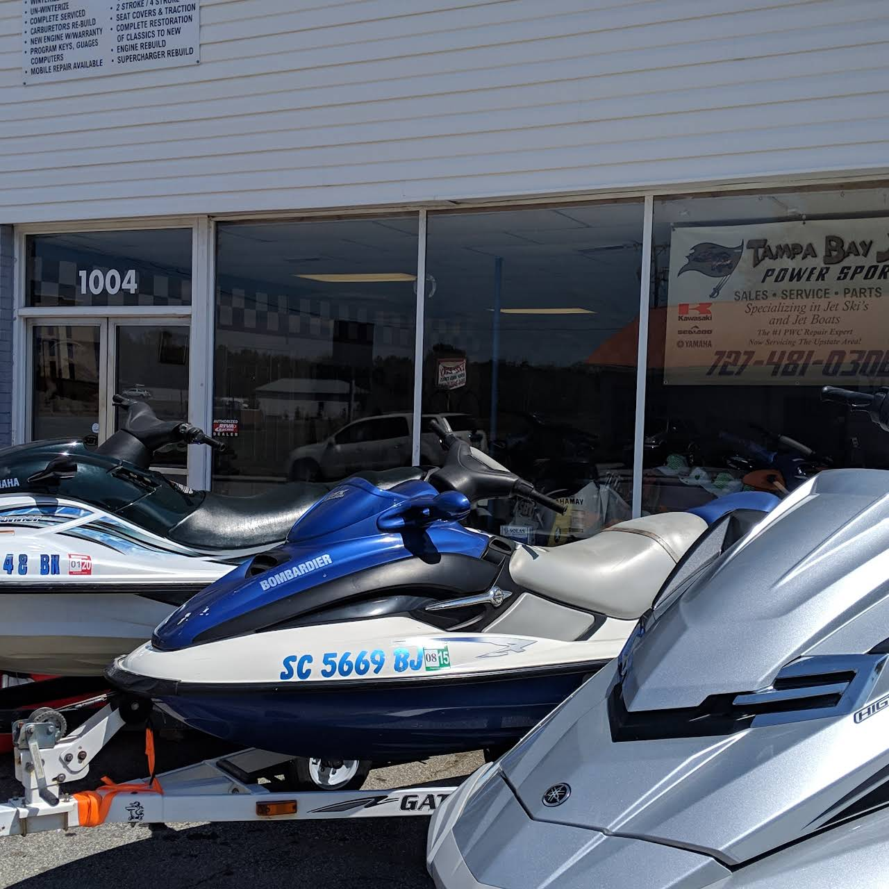 Tampa Bay Jays Powersports - Jet Ski Repair Shop in Seneca , S C