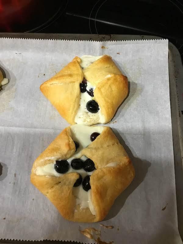 Blueberry Turnovers Recipe