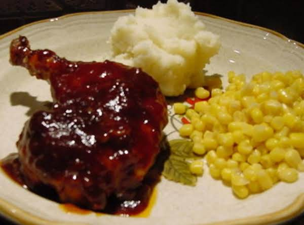 Bonnie's Whiskey Barbecued Chicken