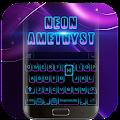 Black Neon 3D Keyboard Theme download