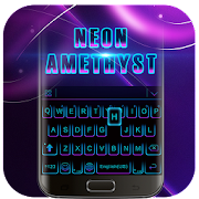 Black Neon 3D Keyboard Theme