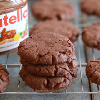 3 Ingredient Nutella Cookies.