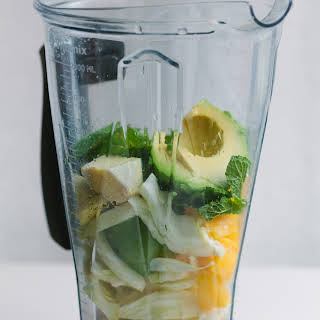 Hydrating Fennel and Avocado Smoothie.
