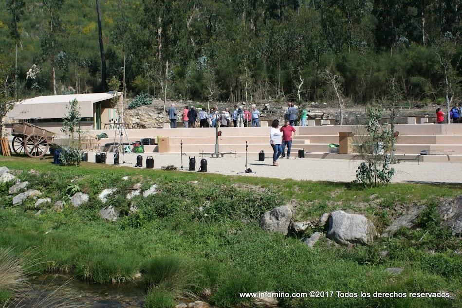 As actuacións realizadas neste espazo foron inauguradas o pasado sábado, contando coa presenza da Directora Xeral de Turismo da Xunta de Galicia