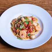 Shrimp & Sea Scallop Fettuccine
