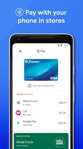 Google Pay: Pay with your phone and send cash 2.105.290968460 screenshots 1