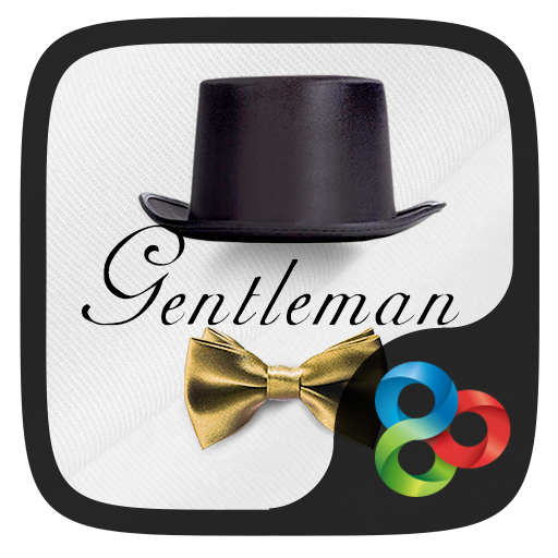 Gentleman Go Launcher Theme for PC