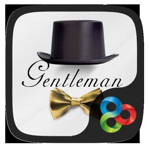 Gentleman Go Launcher Theme