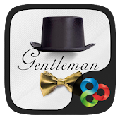 Gentleman Go Launcher Theme