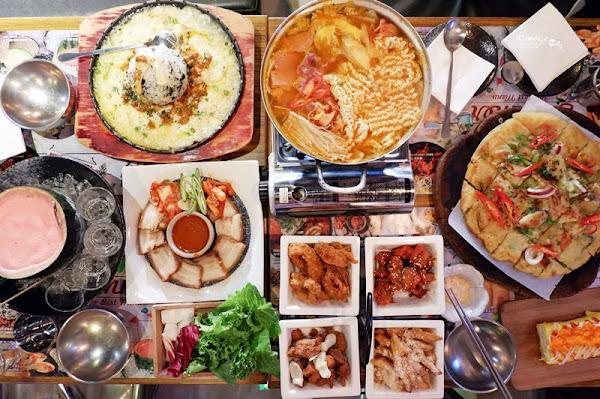 燒酒一杯|市政府美食,創意韓式熱炒!西瓜燒酒部隊鍋