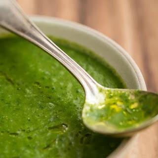 Clean Green Soup.